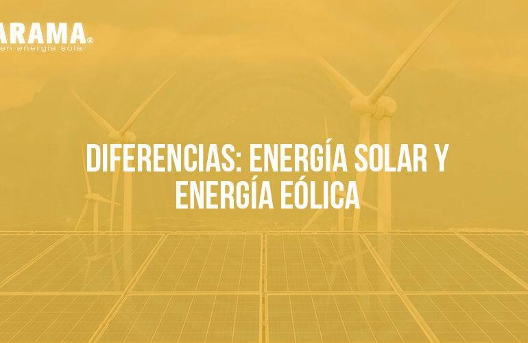 energía solar y energía eléctrica