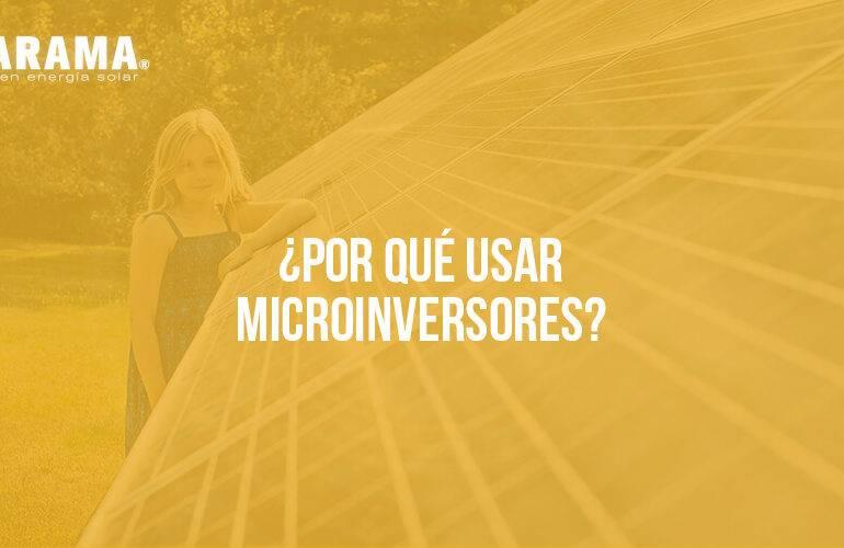 Qué es un microinversor