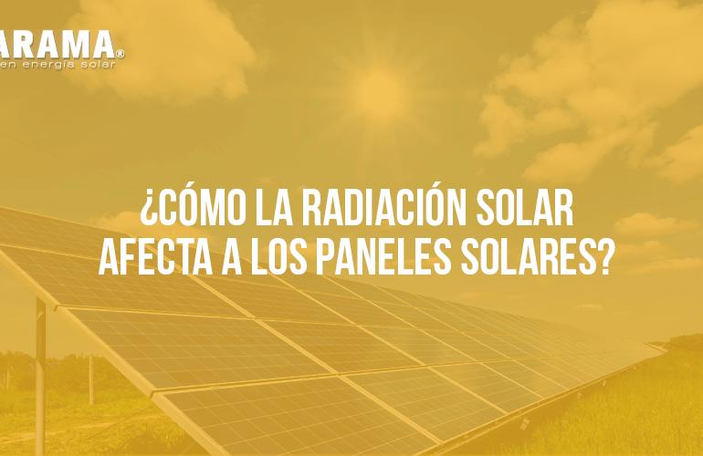 tipos de radiación solar