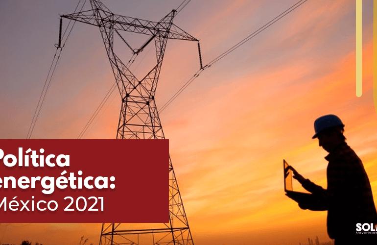 Política energética de México