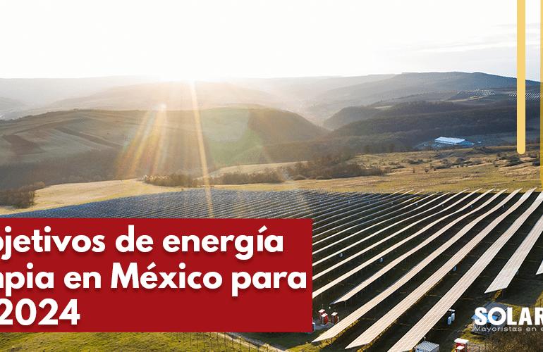 Energía limpia en México